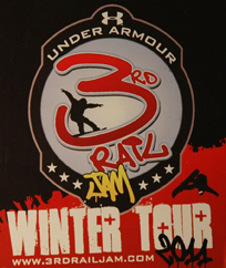 Under Armour 3rd Rail Jam 2011 Killington Resort Vt