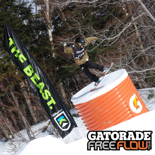 Alli Sports Gatorade Free Flow Tour Killington Resort VT January 2011