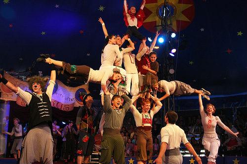 Circus Smirkus :: Killington VT Pico Vermont :: August 2011