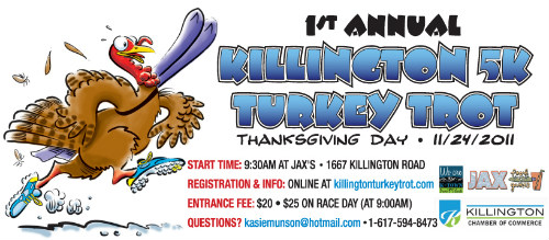Killington, VT - 1st Annual Turkey Trot - Thanksgiving-2011