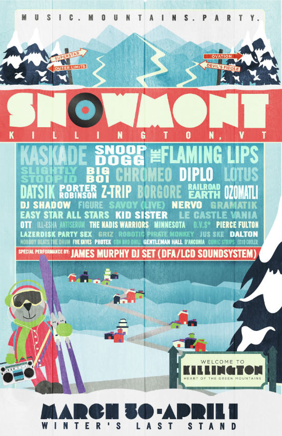 SnowMont Music Festival 2012 (Killington, VT)